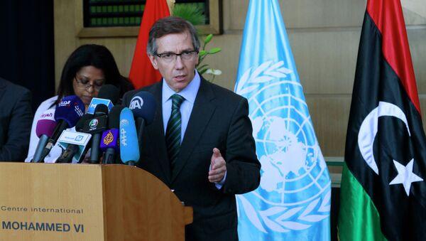 Bernardino Leon, inviato speciale dell'ONU in Libia: I quattro italiani vanno liberati senza condizioni. - Sputnik Italia