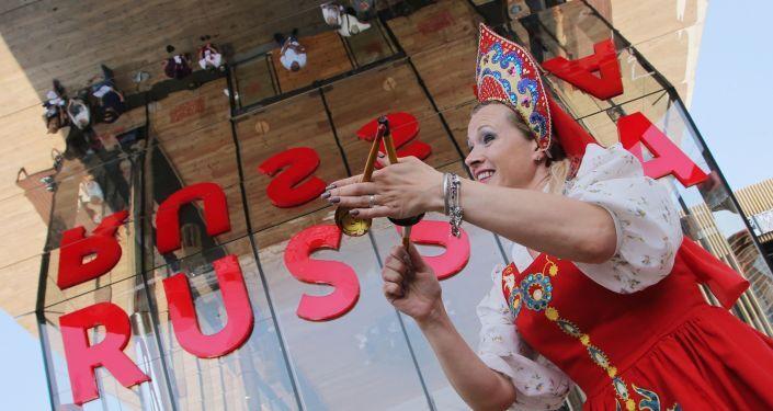 Il padiglione russo al EXPO-2015 a Milano