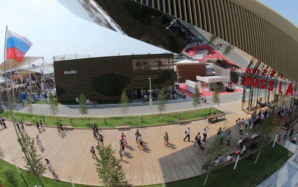 Il padiglione russo ad EXPO Milano. - Sputnik Italia