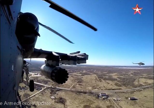 Elicottero Ka-52 Alligator
