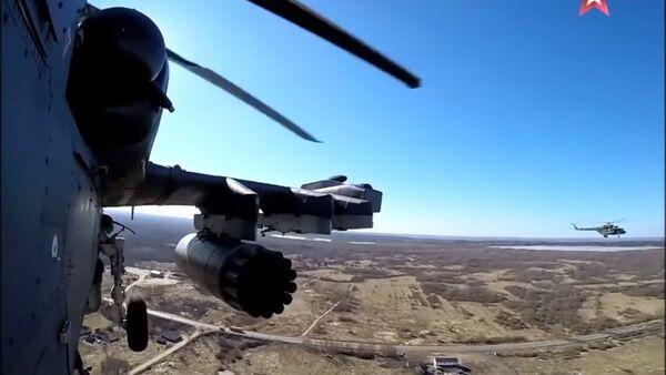Elicottero Ka-52 Alligator - Sputnik Italia