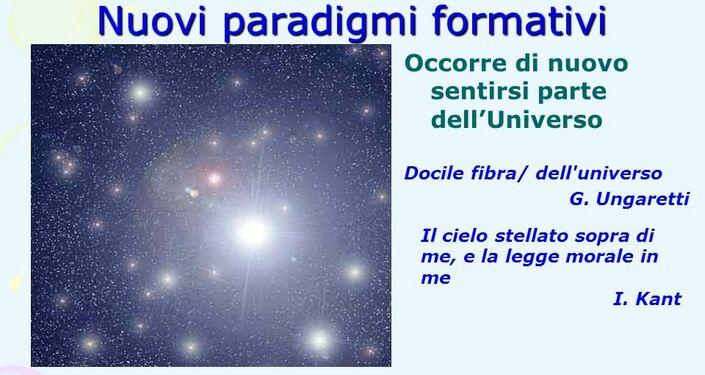 Nuovi paradigmi formativi