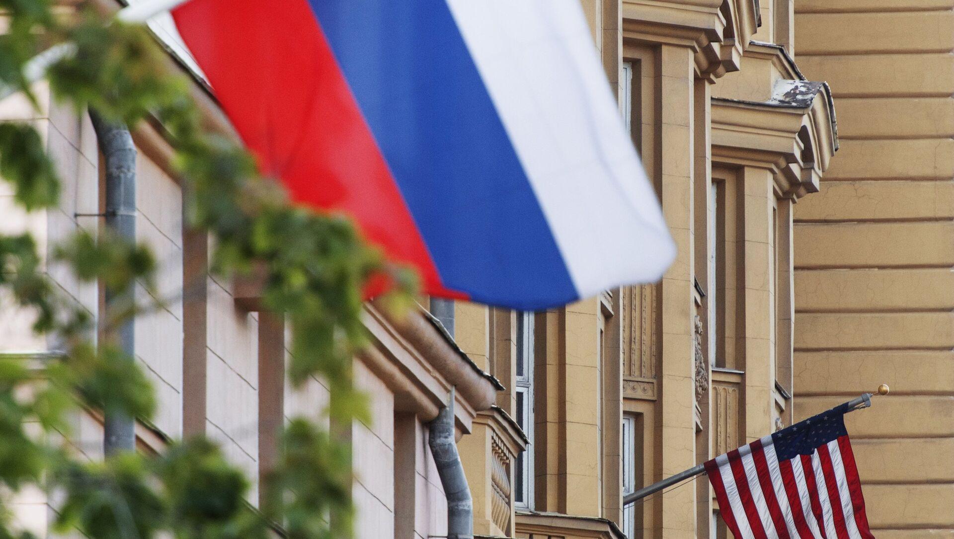 Le bandiere Russia USA - Sputnik Italia, 1920, 01.02.2021