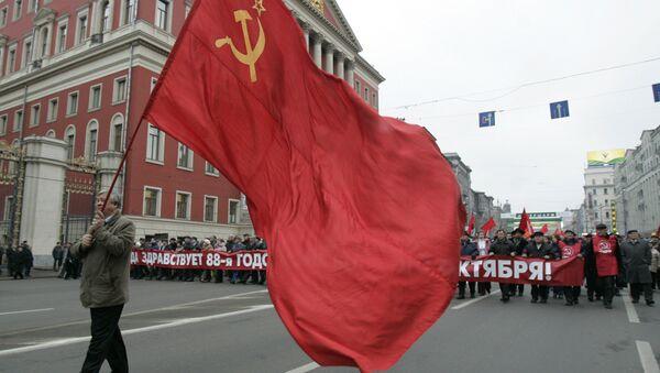 Celebrazione dell'88° anniversario della rivoluzione d'ottobre a Mosca. - Sputnik Italia