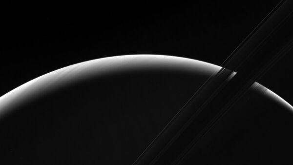 Una fotografia di Saturno scattata dalla sonda Cassini - Sputnik Italia