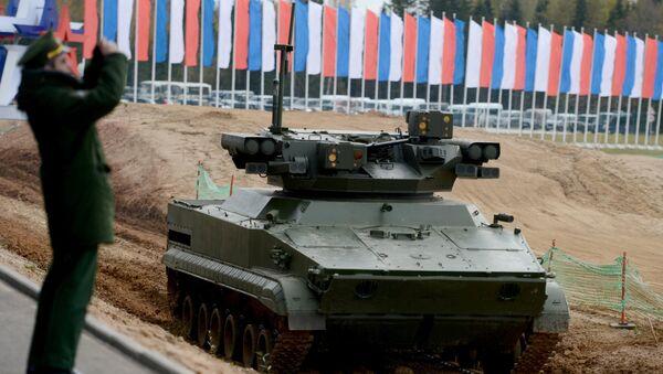 Sistema robotizzato Udar delle forze armate russe - Sputnik Italia