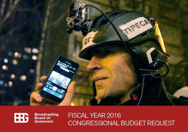 The US government agency Broadcasting Board of Governors (BBG) has filed its annual Fiscal Year Budget Request to the US congress.