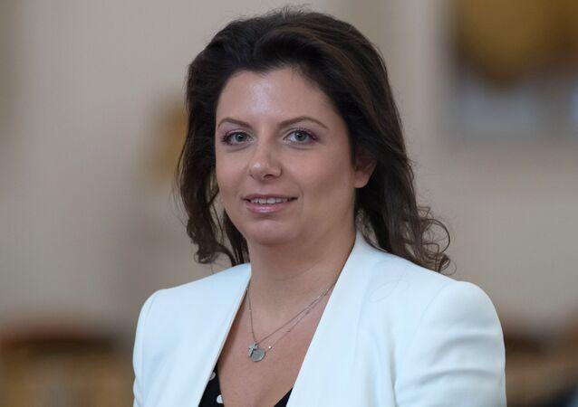 Margarita Simonyan, caporedattore di Rossiya Segodnya