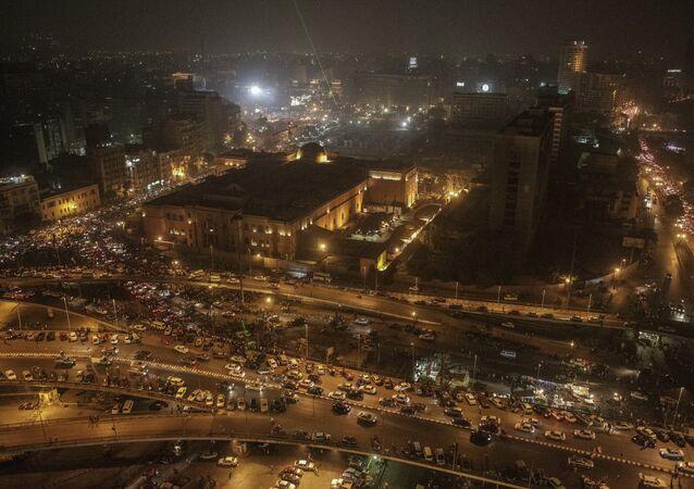 Cairo di notte, Egitto