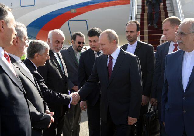 Vladimir Putin a Teheran