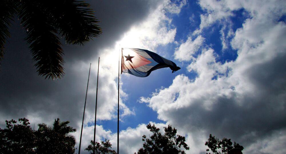 La bandiera cubana