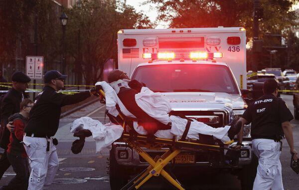 Una vittima dell'attacco terroristico a New York. - Sputnik Italia