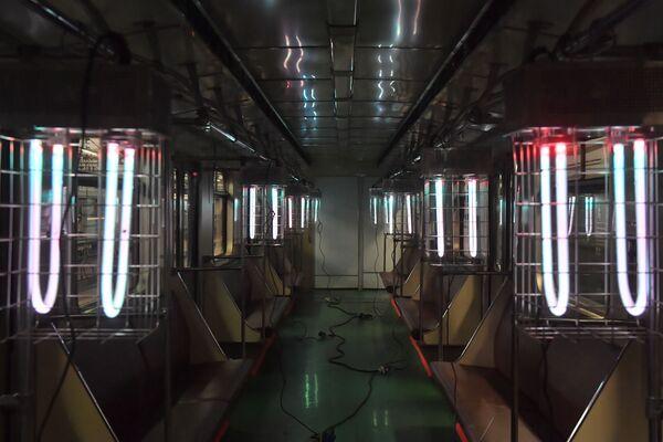 La disintossicazione della metropolitana di Mosca. - Sputnik Italia