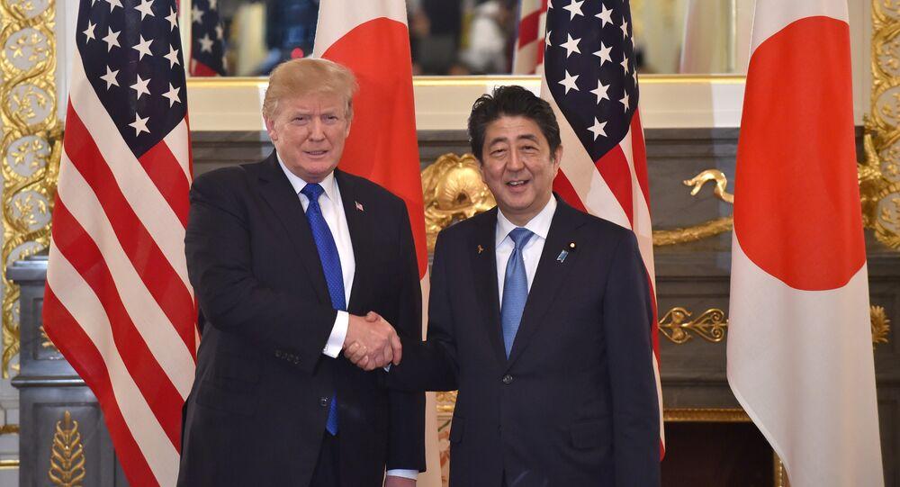 Donald Trump e Shinzo Abe