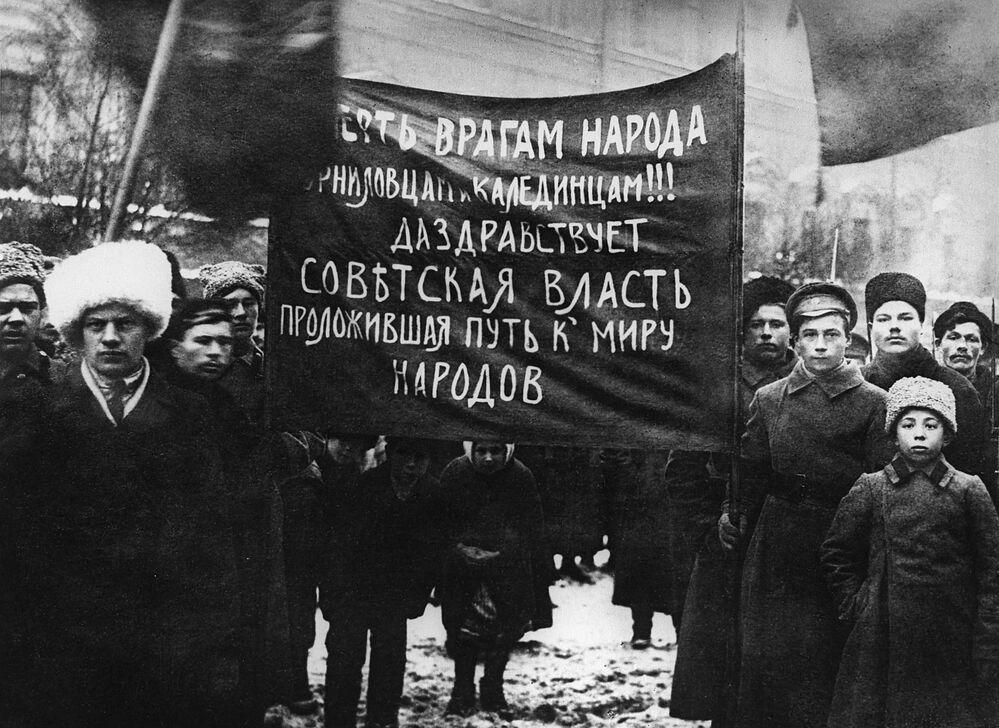 Quel 7 novembre di 100 anni fa...