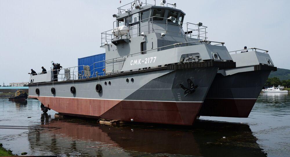 L'imbarcazione multiruolo SMK-2177