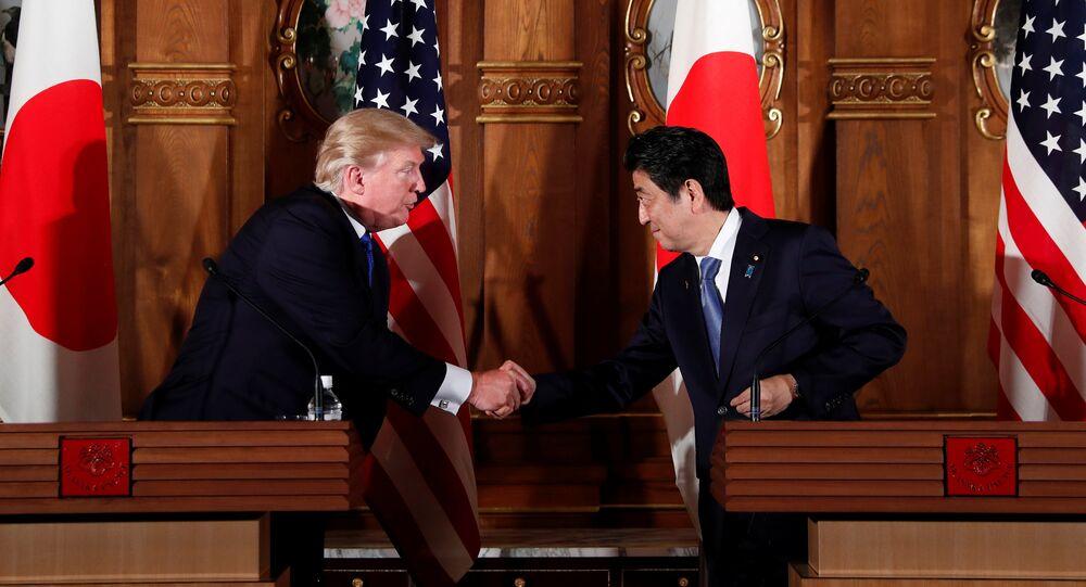 Shinzo Abe e Donald Trump