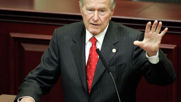 Ex presidente Usa George H. W. Bush - Sputnik Italia