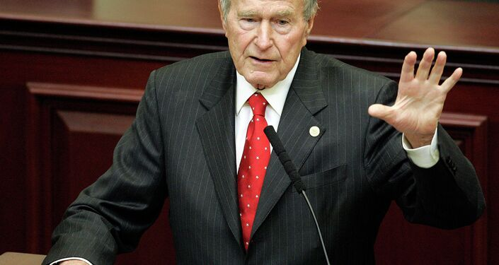 Ex presidente Usa George H. W. Bush