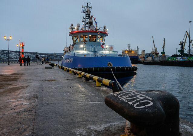 Yuribey, la salvezza delle navi nell'Artico