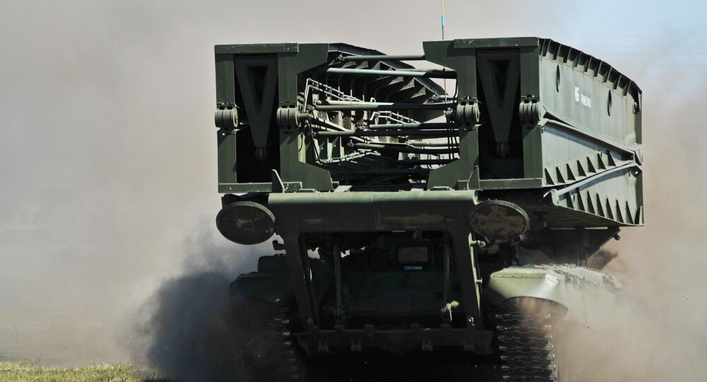Carro armato gettaponte