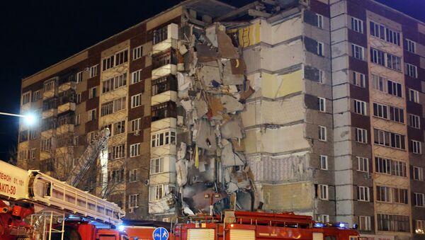 Crollo di un edifico a Izhevsk - Sputnik Italia