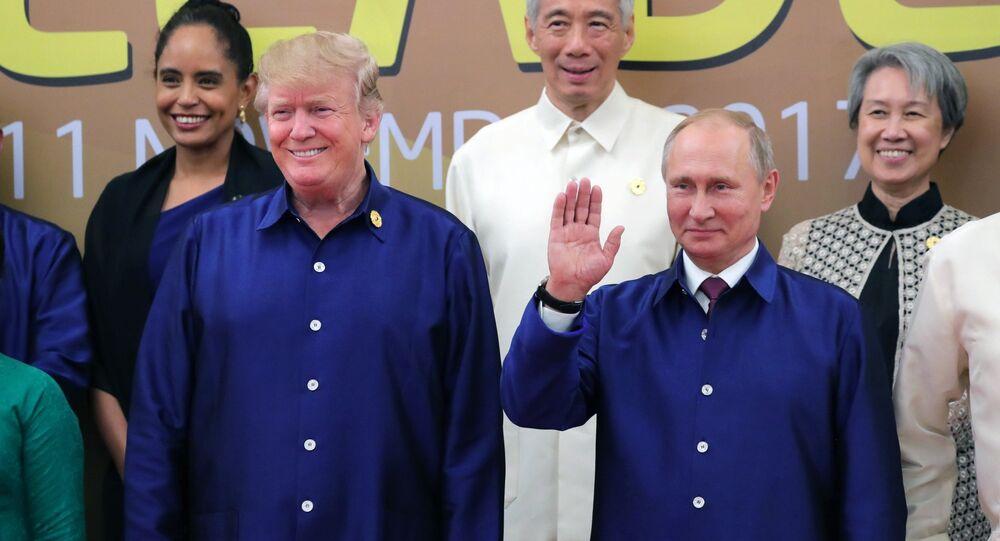 Vladimir Putin e Donald Trump