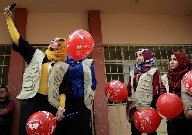 Studenti in Iraq (foto d'archivio)