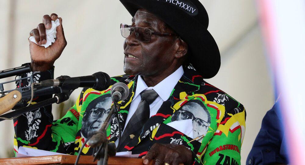 Il presidente del Zimbabwe