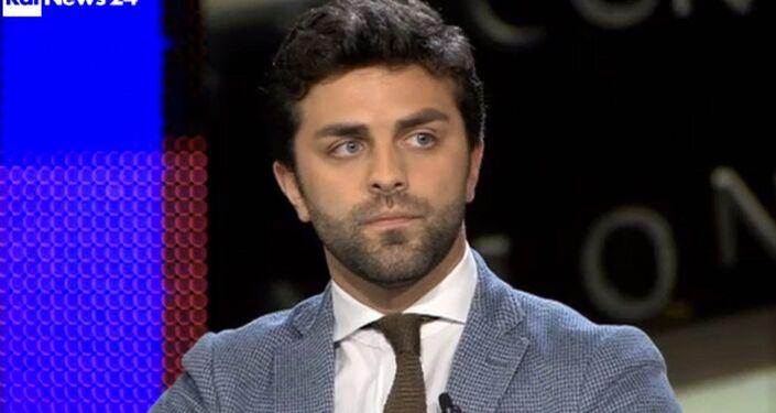 Marco Zanni, europarlamentare del gruppo Europa delle Nazioni e della Libertà (ENF)