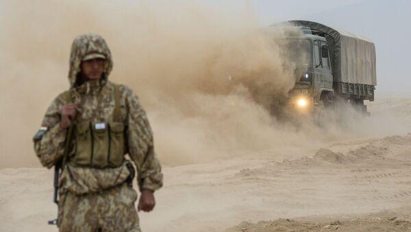 Le esercitazioni antiterroristiche congiunte in Tagikistan - Sputnik Italia