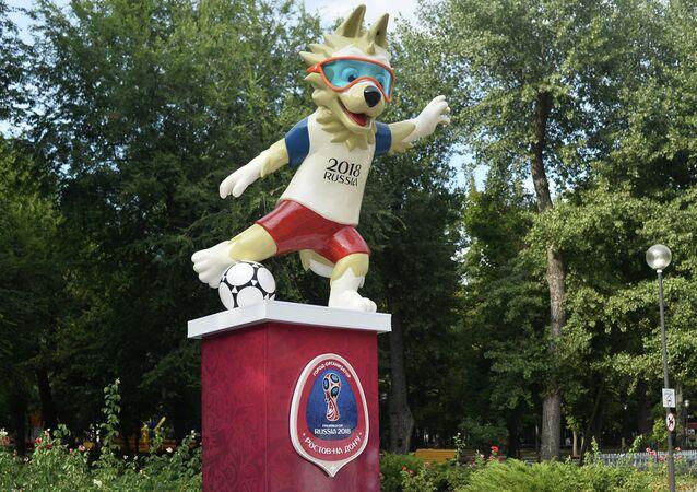 La mascotte dei Mondiali a Rostov