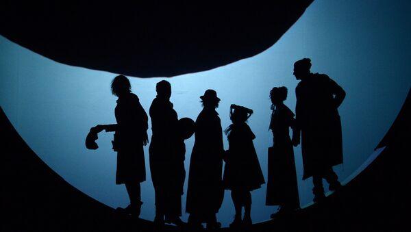 Una rappresentazione de I giganti della montagna di Pirandello al teatro Fomenko di Mosca - Sputnik Italia