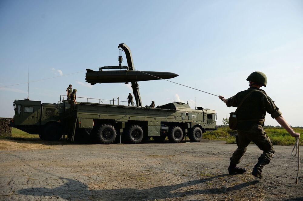 Il sistema missilistico tattico-operativo Iskander-M.