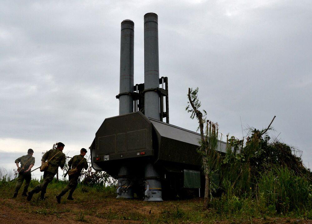 Il complesso lanciamissile della difesa costiera Bastion.