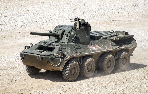 Il cannone d'assalto semovente S23 Nona-SVK. - Sputnik Italia