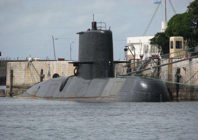 Sottomarino della Marina militare argentina San Juan