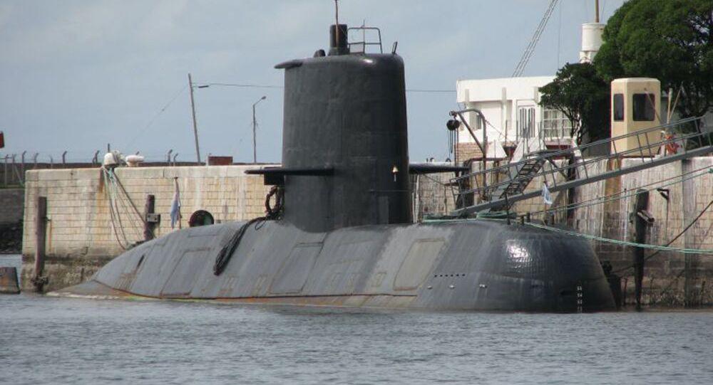 Sottomarino della Marina militare argentina San Juan (foto d'archivio)