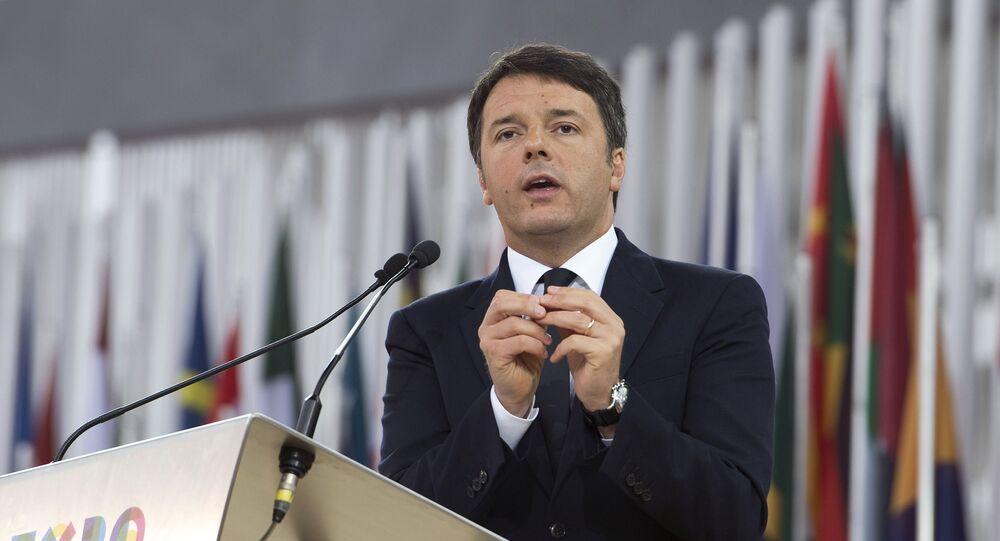 Matteo Renzi Expo 2015