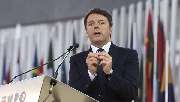 Matteo Renzi Expo 2015 - Sputnik Italia