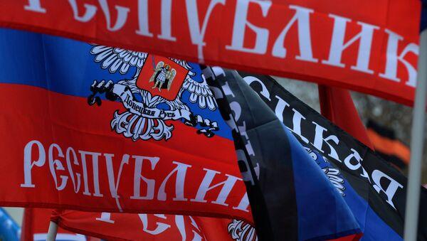 Bandiere Novorossiya - Sputnik Italia