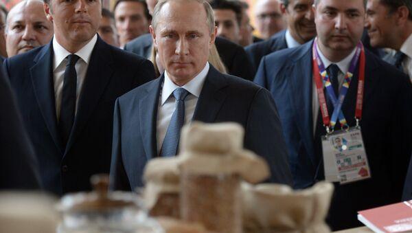 Putin in visita all'Expo - Sputnik Italia