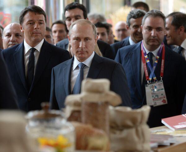 Putin all'EXPO di Milano - Sputnik Italia