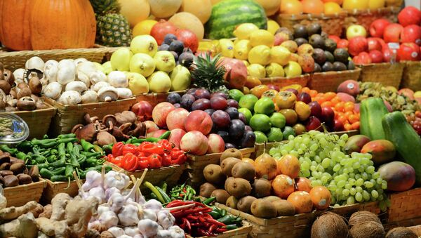 Mercato di frutta e legumi - Sputnik Italia