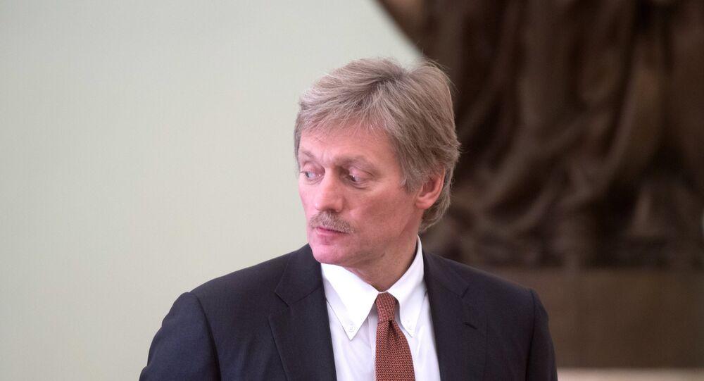 Il portavoce di Putin Dmitry Peskov