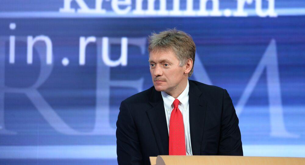 Il portavoce del Cremlino Dmitry Peskov