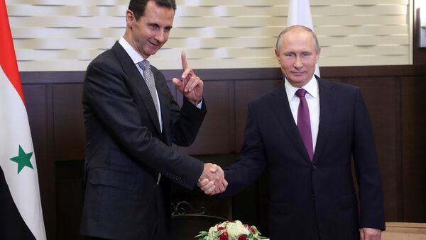 Vladimir Putin si è incontrato con Bashar al-Assad a Sochi - Sputnik Italia