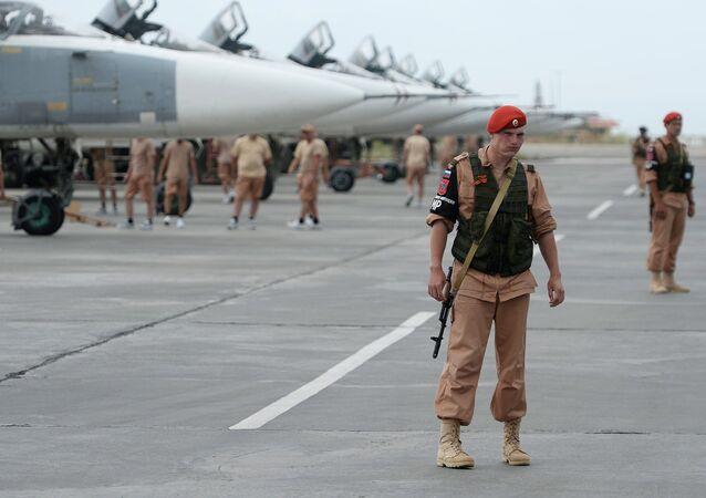 La base aerea russa di Hmeymim in Siria
