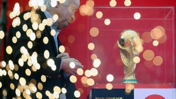Il trofeo della Coppa del Mondo di Calcio - Sputnik Italia