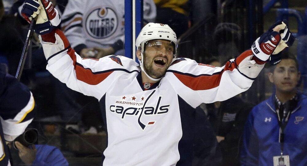 L'hockeysta Alexander Ovechkin